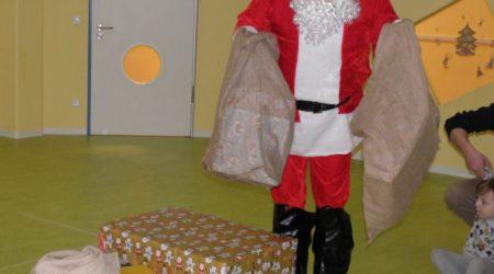Unsere Weihnachtsfeier mit dem Weihnachtsmann