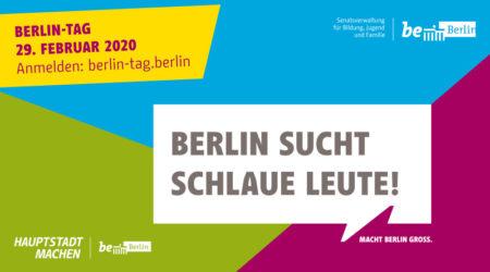Unsere Teilnahme am Berlin-Tag am 29.02.2020